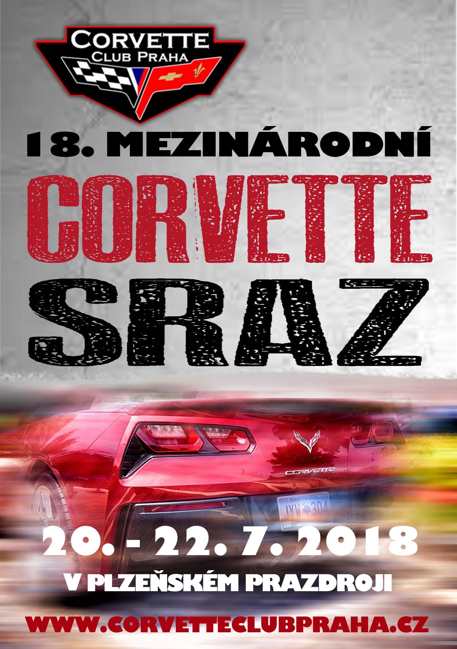 18. Mezinárodní sraz Corvette Club Praha