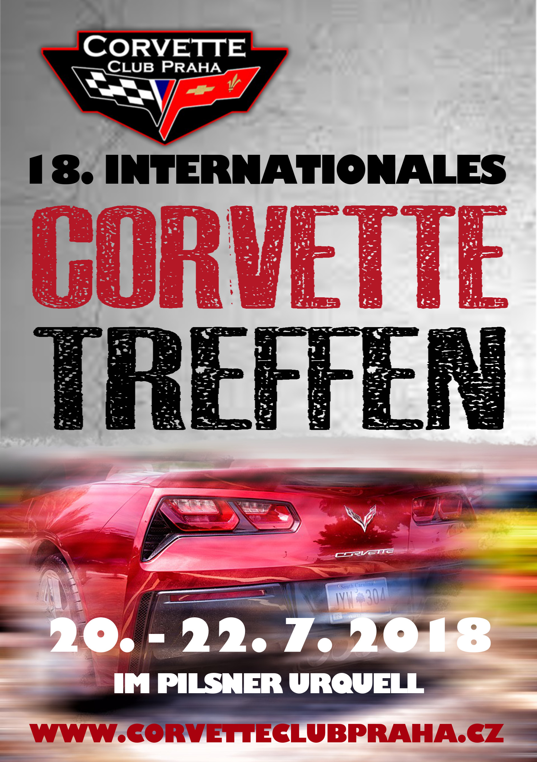 16. Internationale Treffen der Corvette Club Praha