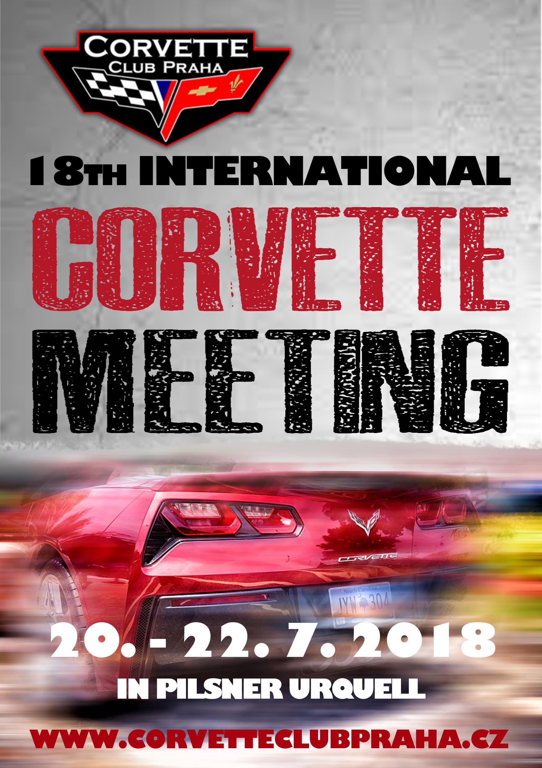 18th International Meeting of Corvette Club Praha