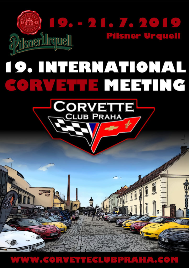 19th International Meeting of Corvette Club Praha
