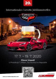 20. Internationale Jubiläumstreffen der Corvette Club Praha